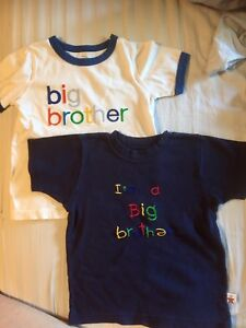 Size 2 brother t-shirts