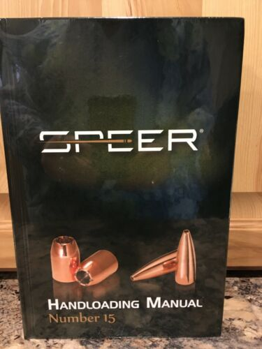 Newest Speer Handloading Manual number # 15, sealed WW shipping