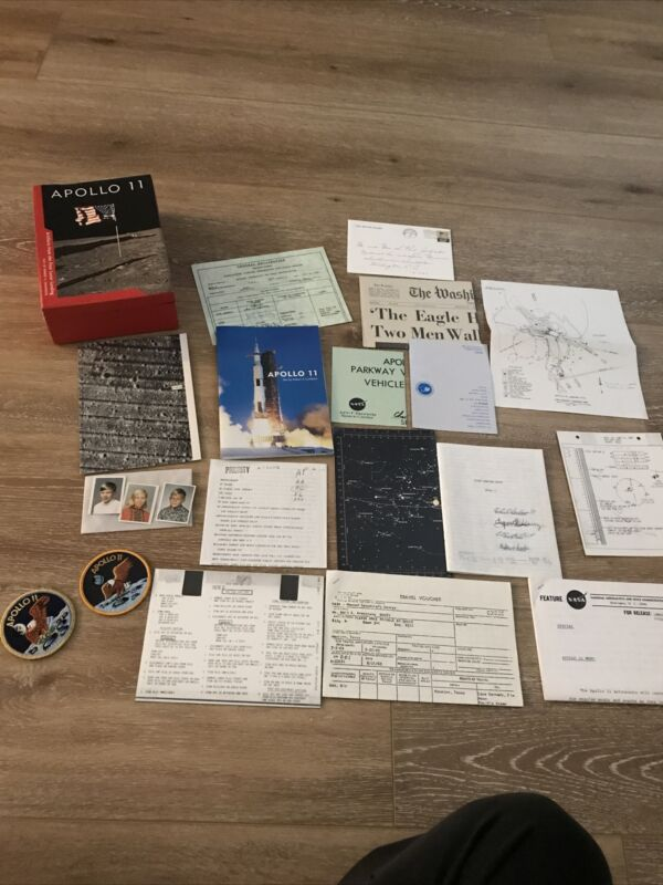 Smithsonian Apollo 11 Artifacts From The First Lunar Landing Original Box