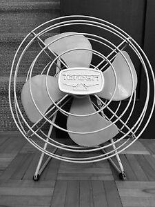 Vintage Torcan desk fan