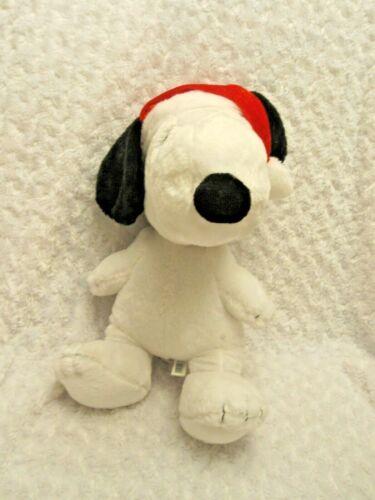 "Dan Dee Peanuts Snoopy Santa Hat Plays Linus & Lucy 24"" Plush Stuffed Animal Toy"