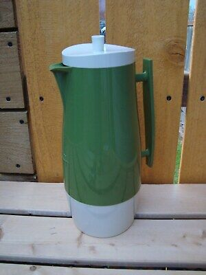 Vintage Aladdin Beverage Butler 1 Qt Thermos Pitcher Coffee Avacodo Green
