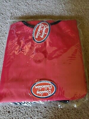 Cowboy Collection Heavy Denier Nylon Feed Horse Hay Bag  Stall Trailer~Red~New