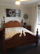 QUEEN SIZE TIMBER BEDROOM SUITE 5 PIECE No Mattress Wallaroo Copper Coast Preview