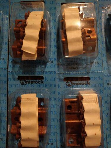 Vintage copper hinges