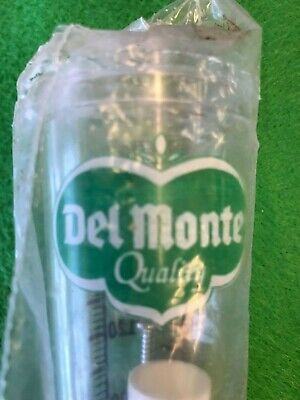 Vintage Del Monte Rain Gauge New In Package  Last One