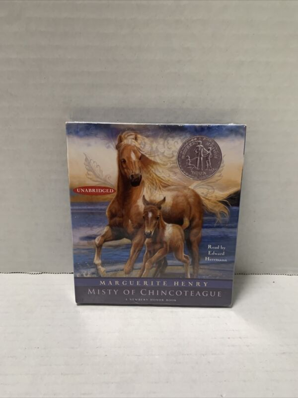 Audiobook~ MISTY OF CHINCOTEAGUE UNABRIDGED BY MARGUSRITE HENRY New