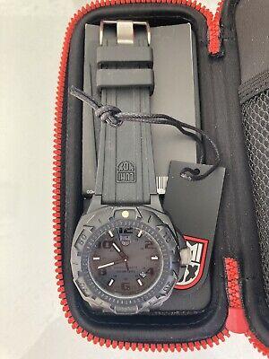 LUMINOX SENTRY QUARTZ Men's Watch   Model 0201.BO   BLACKOUT   NAVY SEAL
