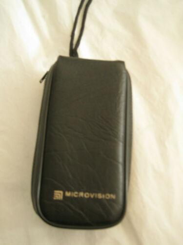 MICROVISION  MOD II HAND HELD VIEWER  Microfiche Reader-VINTAGE-OP INSTRUCTION