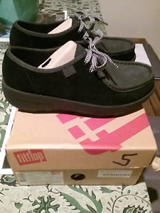 Fitflop Loaff Lace-up Moc Tuncurry Great Lakes Area Preview
