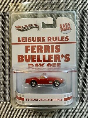 Hot Wheels Retro Entertainment Ferris Bueller's Day Off Ferrari 250 California