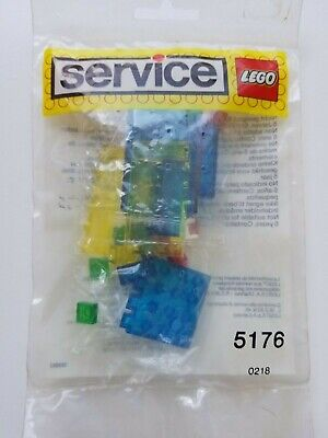 Lego 5176 Vintage Transparent Bricks Service Pack - 1980's - NEW NISB NIB MIB