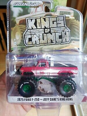 Greenlight Kings of Crunch 1975 FORD F-250 JEFF DANE'S KING KONG CHASE #00005