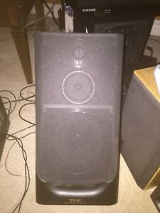 Pair of TEAC bookshelf speakers.  Mint condition. Can test