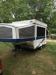 2008 jayco tent trailer model 1007