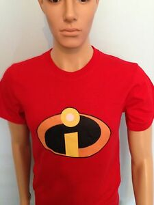 THE-INCREDIBLES-Super-Hero-T-Shirt-Men-Ladys-adult-size