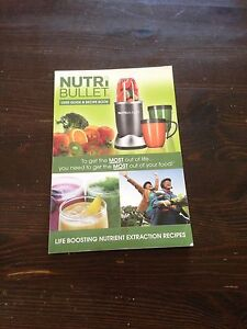 nutribullet recipe book Footscray Maribyrnong Area Preview