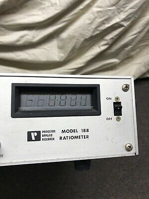 Princeton Applied Research Potentiostat Galvanostat 188 Ratiometer
