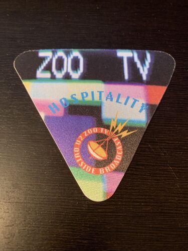 U2 1993 ZOO TV TOUR PASS - $7.00