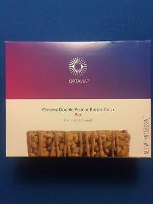 Medifast Optavia Creamy Double Peanut Butter Crisp Bars 7 Bars Fresh  Free Ship