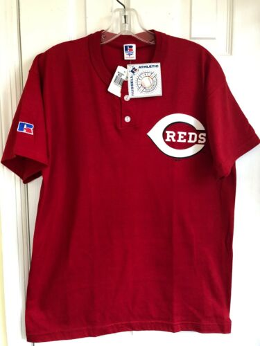 Vintage Russell Athletic Reds TShirt Youth L- new/tags