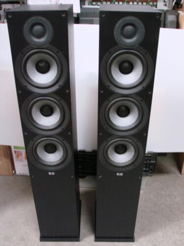 ELAC Debut 2.0 F6.2 Floorstanding Speakers , DF62-Black - Pair, by Andrew Jones.
