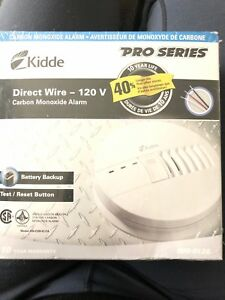 Kiddle  Carbon Monoxide Alarm Direct wire with battery backup