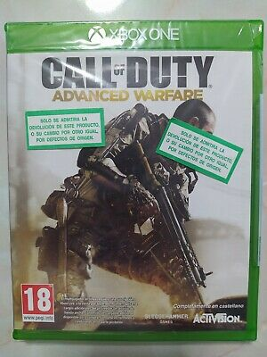 Call of duty advanced warfare -xbox one-Nuevo-Castellano-
