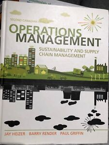 Operations Management: Sustainability & Supply Chain Management