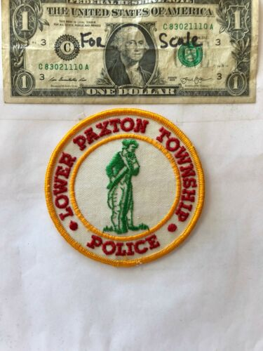 Lower Paxton Pennsylvania Police Patch (Township) un-sewn great shape