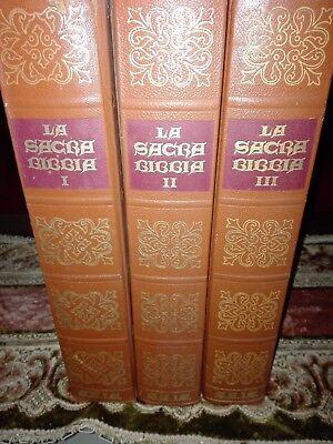 LA SACRA BIBBIA DEL 1969  (3 VOLUMI) comprar usado  Enviando para Brazil