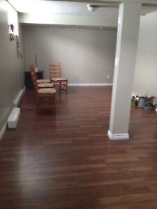 3 1/2 for rent in a basement
