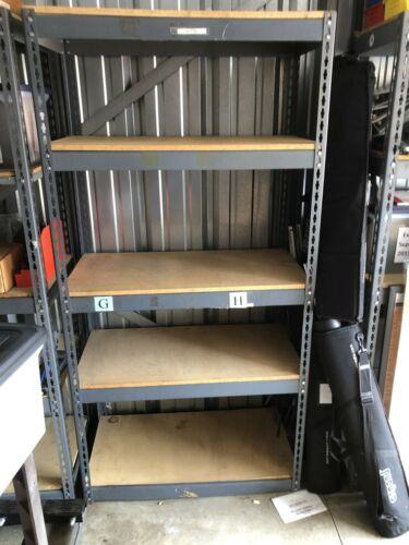"Rack Shelving Storage 36""W x 18""D x 72""H Garage Shelf Heavy Duty 5 level"
