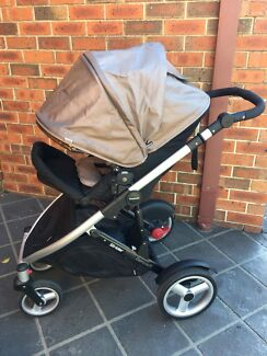 STEELCRAFT STRIDER COMPACT + Bassinet + Capsule