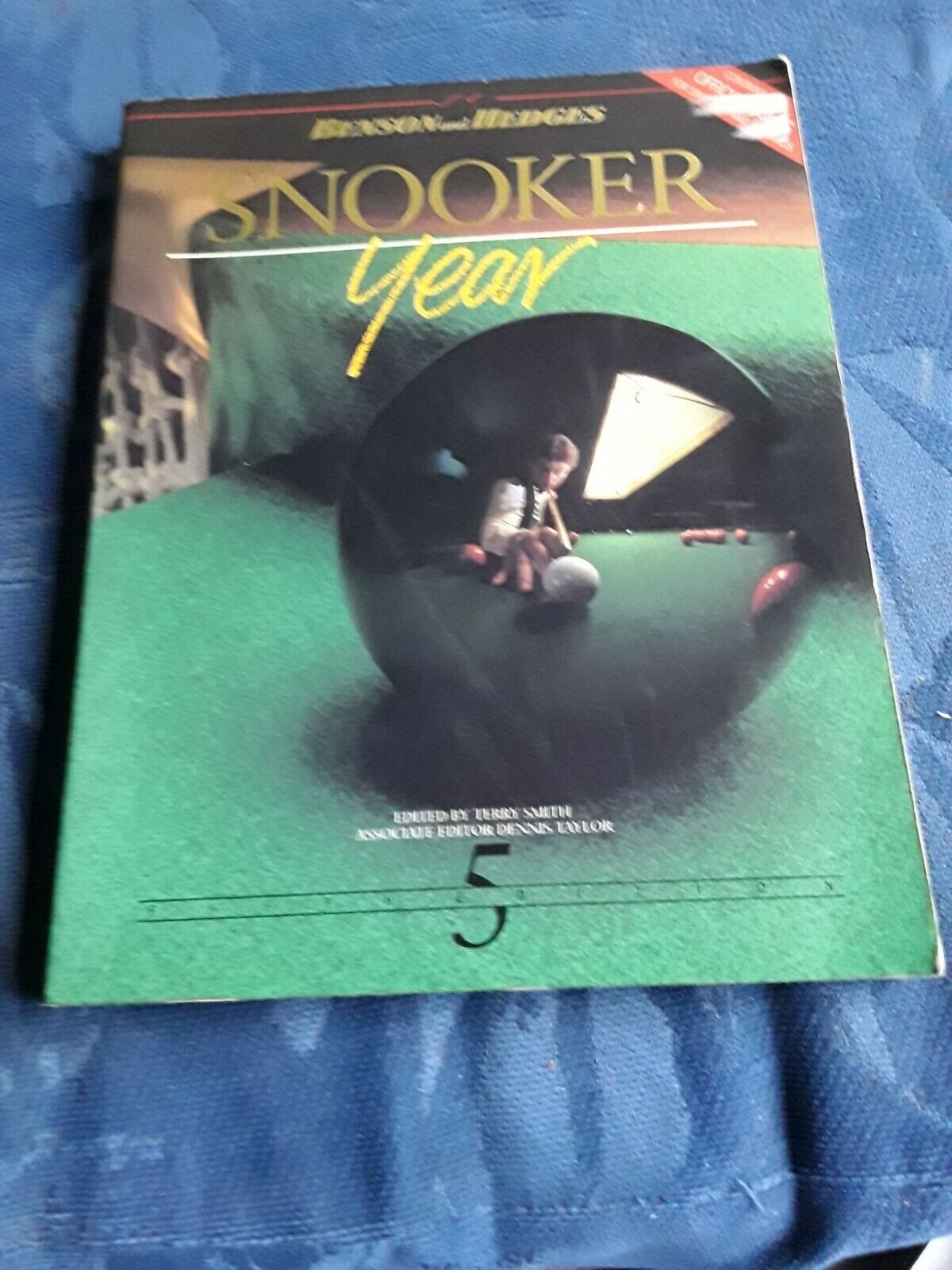 Benson and hedges snooker year book fifth edition