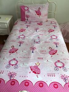 Princess girl single bed set Oxley Brisbane South West Preview