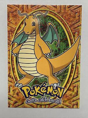 PSA 9 MINT Dragonite #E12 Topps Movie Editon Pokemon Card