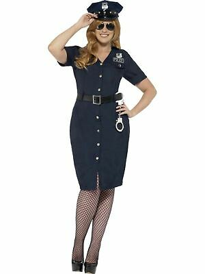 Policewoman Police officer WPC cop Womens Costume Ladies Fancy Dress outfit - Womens Police Officer Kostüm