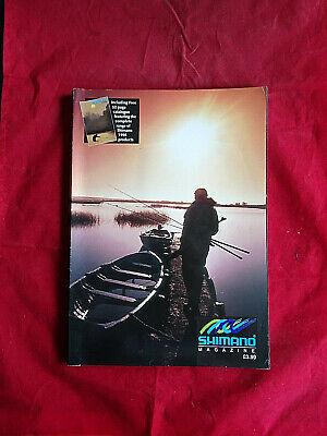 VINTAGE SHIMANO MAGAZINE INCLUDING A 1996 ADVERTISING FISHING CATALOGUE