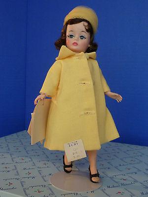 "Fabulous 1962 Alexander CISSETTE JACQUELINE 10"" Doll~Yellow O/F/Original Box/Tag"