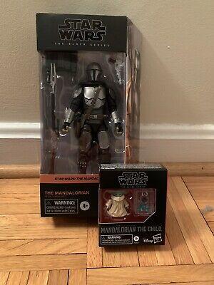 Star Wars Black Series Mandalorian Beskar Armor w/ The Child (2 Figures)