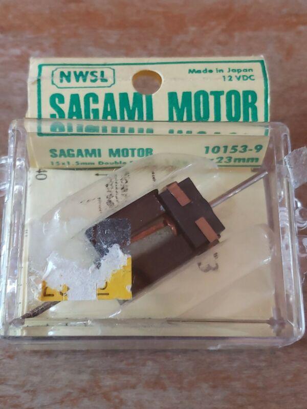 NWSL SAGAMI MOTOR 10153-9 12 VOLT DC CAN TYPE