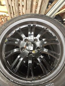"Set of Konig unknown 17 "" rims"