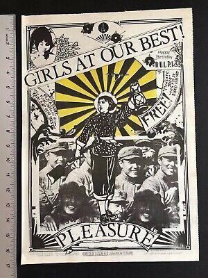 Girls At Our Best 1981 Original 12X16