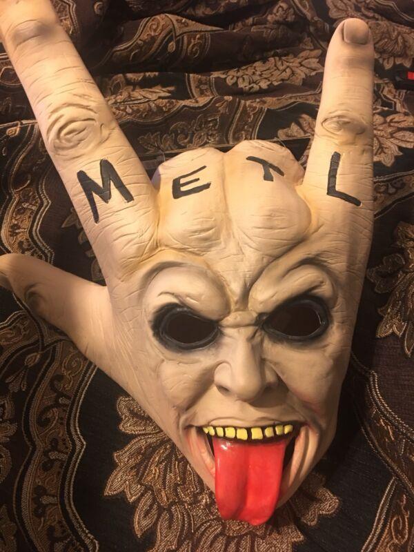 Heavy Metal Halloween Mask