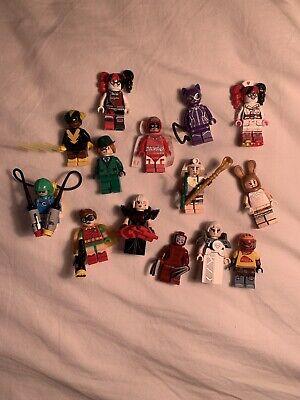 Lego Batman Movie Lot Of 14 Minifigures