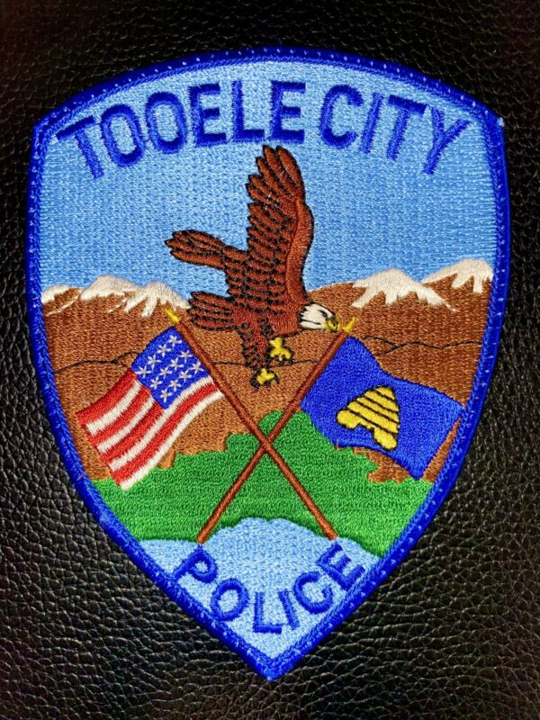 Tooele City Utah Police Patch
