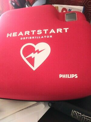 Aed Automatic External Defibrillator Or Heartstart Defibrillator By Philips
