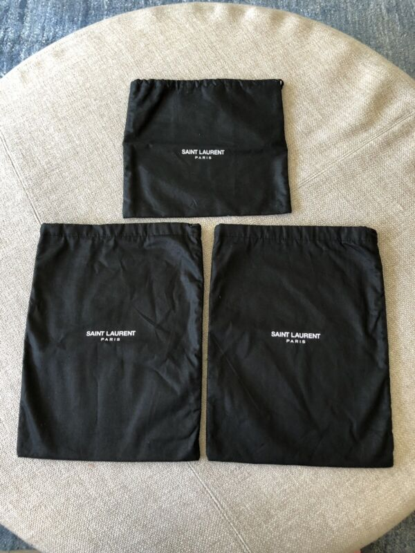 New Saint Laurent dust bag a lot of 3