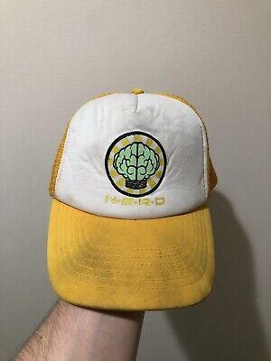 N.E.R.D Brain Vintage Trucker Hat In Search Of Hat Neptunes Star Trak Pharrell - Brain Hats